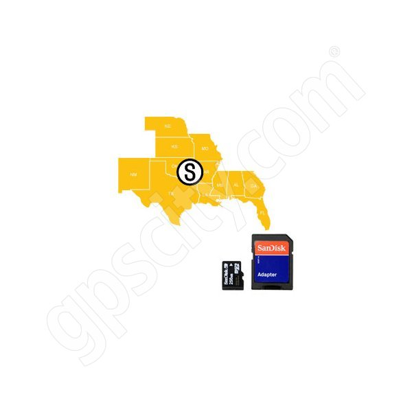 HotMaps Platinum South USA Lakes microSD with SD Adapter