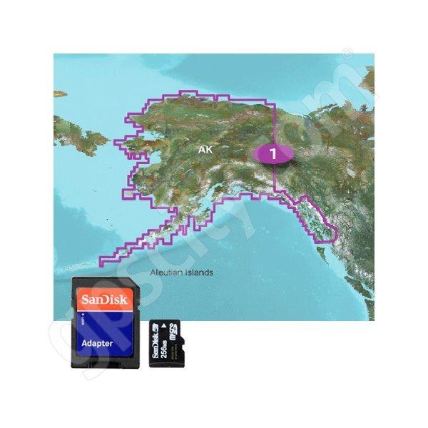 Garmin Topo Us Alaska Enhanced Microsd Card