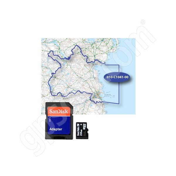 Garmin TOPO EIRE 50K North-East microSD Card
