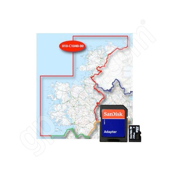 Garmin TOPO EIRE 50K North-West microSD Card