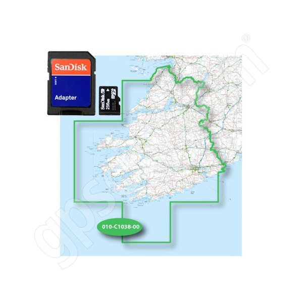 Garmin TOPO EIRE 50K South-West microSD Card Additional Photo #1