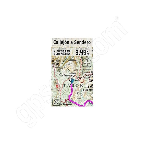Garmin TOPO Alpina Espana Catalunya interior-Litoral microSD Card Additional Photo #3