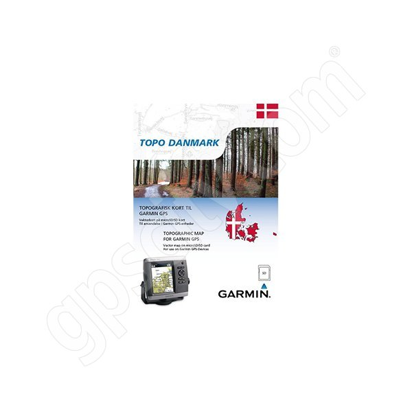 Garmin TOPO Danmark v2 DVD Additional Photo #1