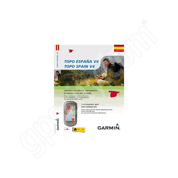 Garmin TOPO Spain microSD and DVD