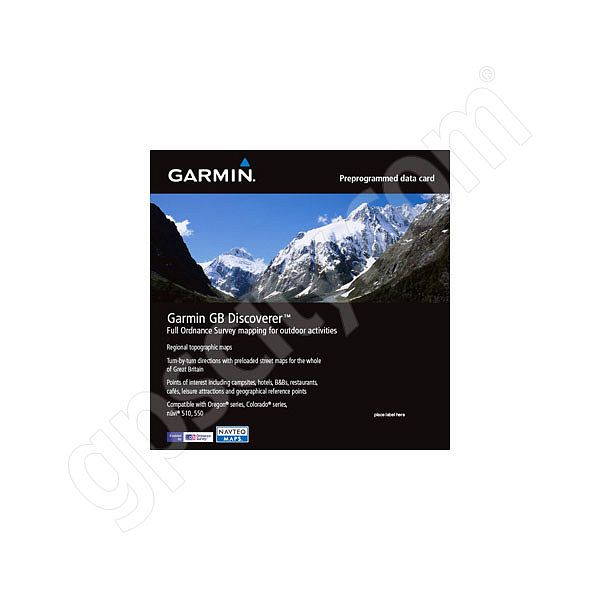 Garmin TOPO Great Britain 50K Southern England and Wales microSD Card Additional Photo #1