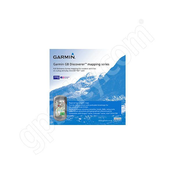 Garmin TOPO Great Britain Discoverer microSD Card Additional Photo #1