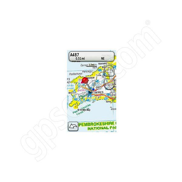 Garmin TOPO Great Britain Brecon Beacons and Pembroke Coast microSD Card Additional Photo #5