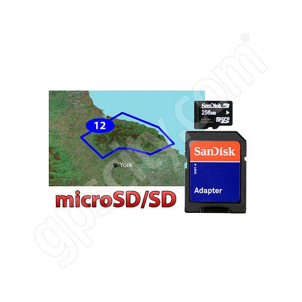 Garmin TOPO Great Britain North Yorkshire Moors microSD Card