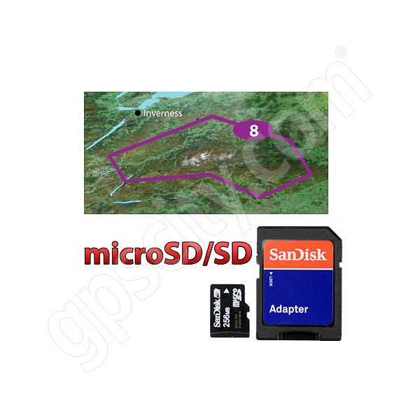 Garmin TOPO Great Britain The Cairngorms microSD Card