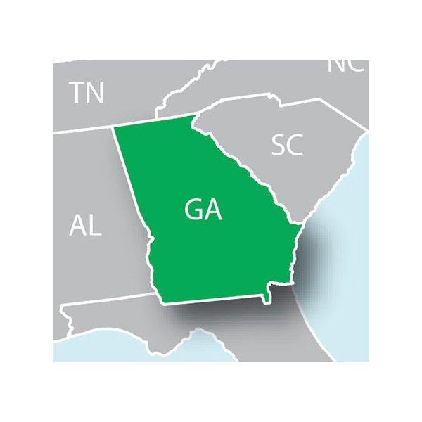 Garmin HuntView Maps For Georgia On MicroSD Card - Georgia map garmin