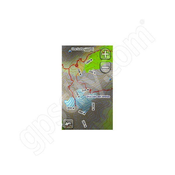 Garmin Italy TrekMap Italia v2 microSD Card Additional Photo #1