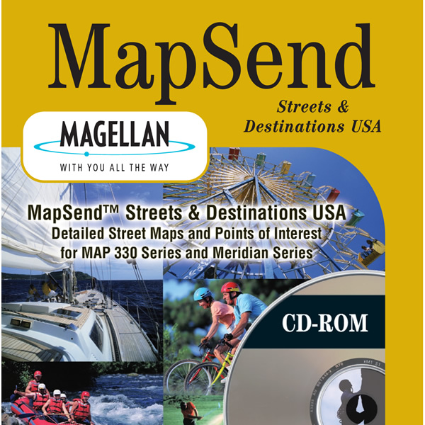 Magellan USA Streets and Destinations CD