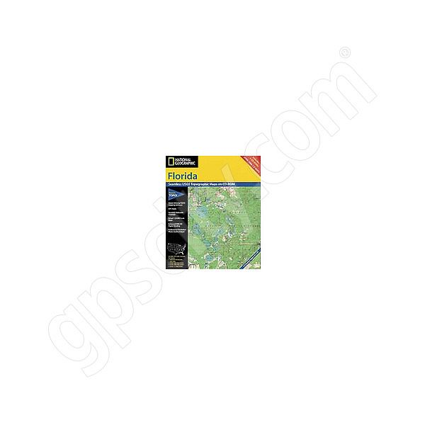 National Geographic Topo! Florida for WINDOWS