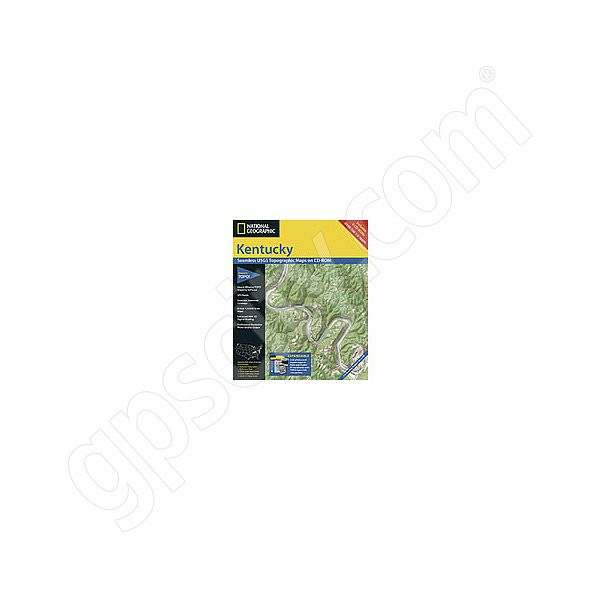 National Geographic Topo! Kentucky for WINDOWS