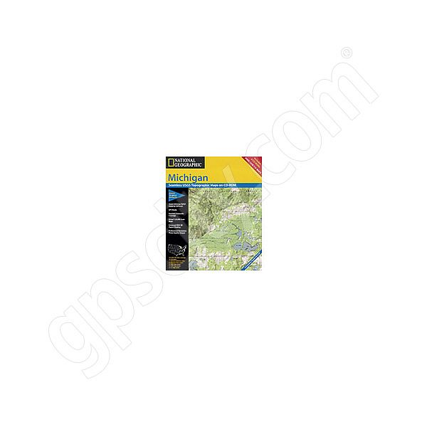 National Geographic Topo! Michigan for WINDOWS