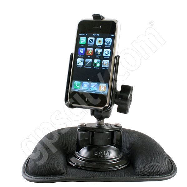 Arkon Mini Friction Dashboard Mount with Safety Hook SM012 Additional Photo #9