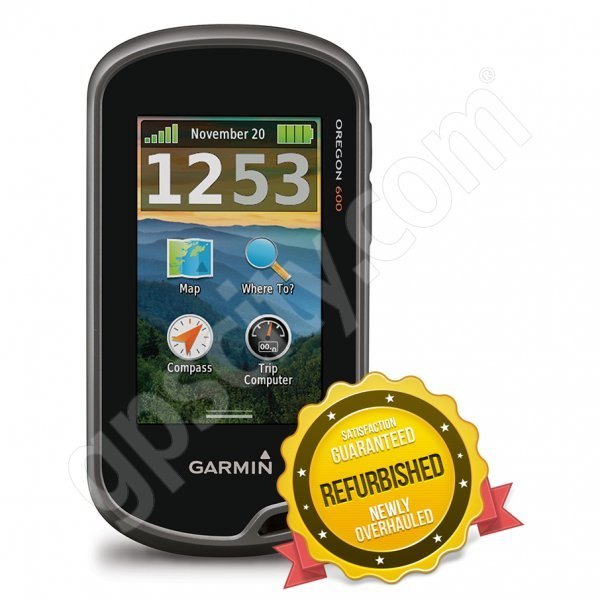 Garmin Oregon 600 Newly Overhauled