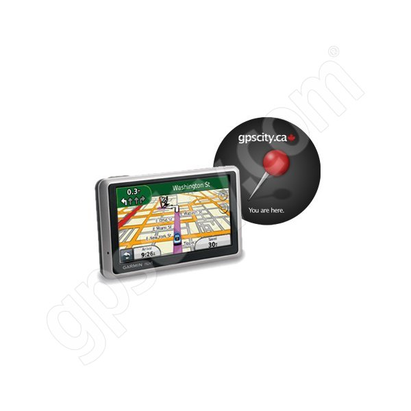 Garmin Nuvi 1350 with Mousepad Canada