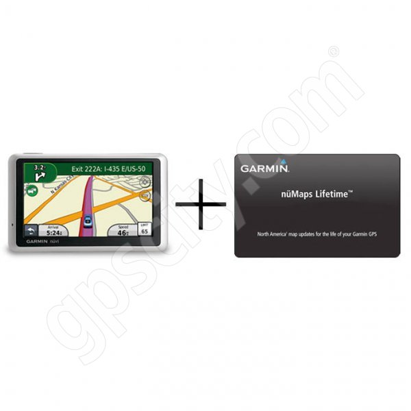 Garmin Nuvi 1350 with Traffic and Lifetime Map Updates