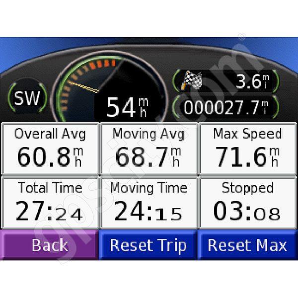 Nuvi 350 Pre-Loaded Auto-routing Voice Guidance GPS