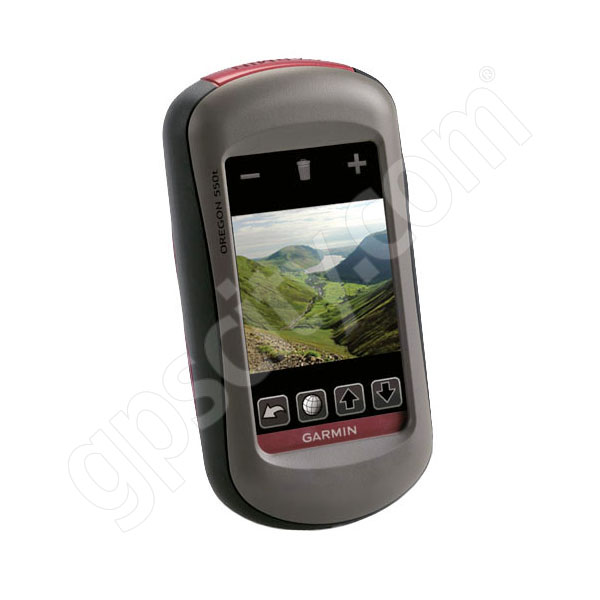 Garmin Oregon 550t with Camera and US Topo Additional Photo #1