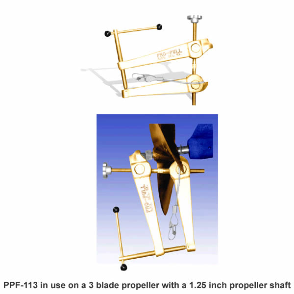 RAM Mount Pro-Pull 0.75 to 2in Versatile Propeller Puller