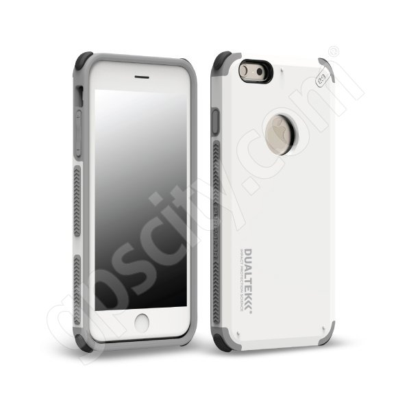 low priced 7f360 32803 DualTek Extreme Shock Case for iPhone 6 Plus Arctic White (Glossy)