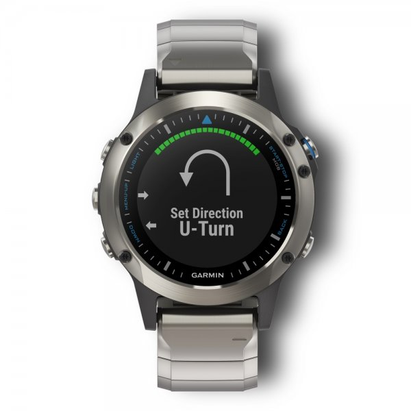 garmin quatix 5 sapphire marine gps smartwatch. Black Bedroom Furniture Sets. Home Design Ideas
