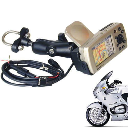 Garmin Quest Motorcycle GPS with Garmin Cradle