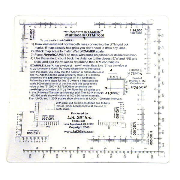 GPS Outfitters Multi Scale Ruler