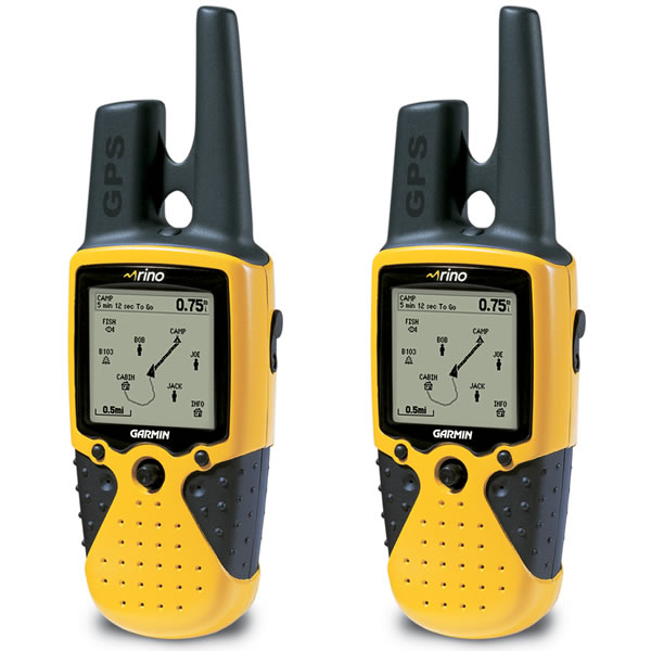 Rino 110 Integrated GPS and Radios Double Pack