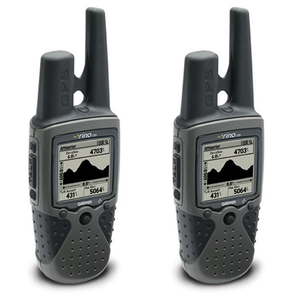 Garmin Rino 130 Radio GPS Double Pack