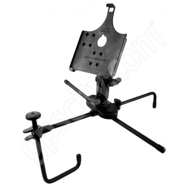 RAM Mount Portable Seat-Mate Vehicle iPad iPad 2 Mount HD Kit RAM-SM1-AP8 Additional Photo #1
