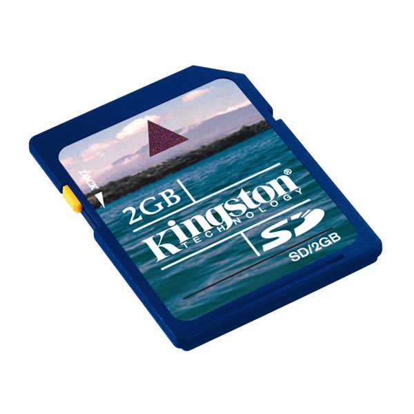 Kingston 2GB SD Data Card