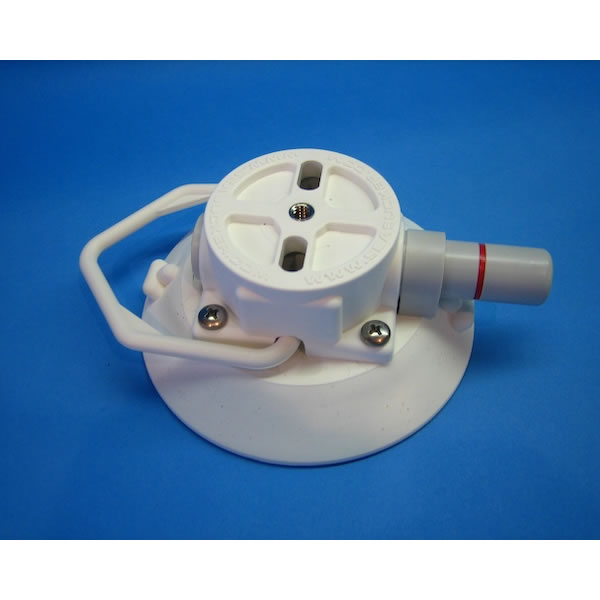 SeaSucker White 4.5 inch Vacuum Pump Suction Cup Base