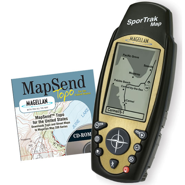 Magellan SporTrak Map ATV Bundle