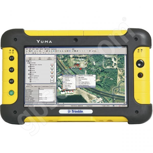 Trimble Yuma Tablet Computer 80GB SSD Yellow