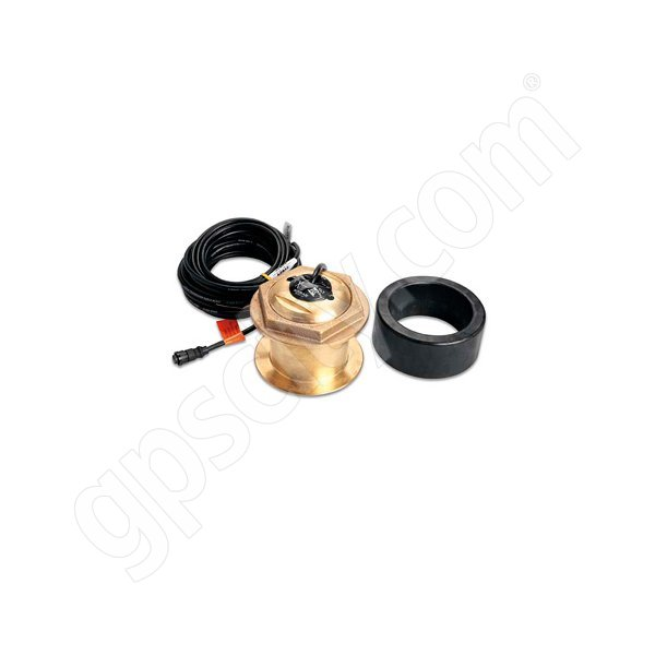 Garmin Airmar Dual Freq Bronze 1kW Transducer Thru-Hull 12 Degree