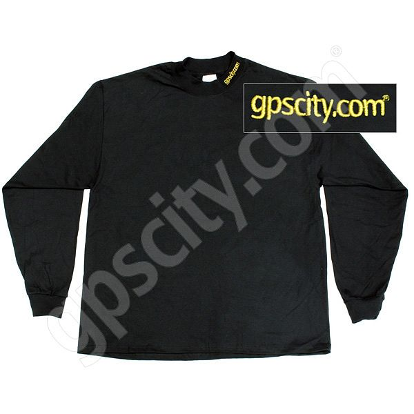 GPS City Black Long Sleeve Mock Turtleneck Medium