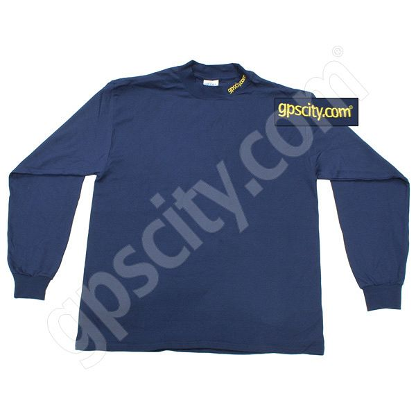 GPS City Navy Long Sleeve Mock Turtleneck XXL