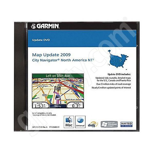 Garmin UPDATE City Navigator NT 2009 North America DVD for Kenwood Additional Photo #2