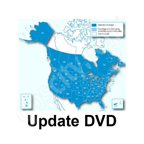 Garmin UPDATE City Navigator NT 2012 North America DVD for Kenwood