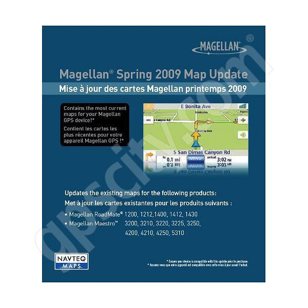 Magellan Magellan USA 2009 Spring Map Update
