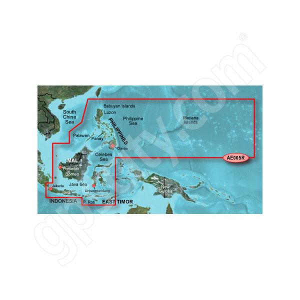 Garmin microSD Card BlueChart g2 Vision HD VAE005R