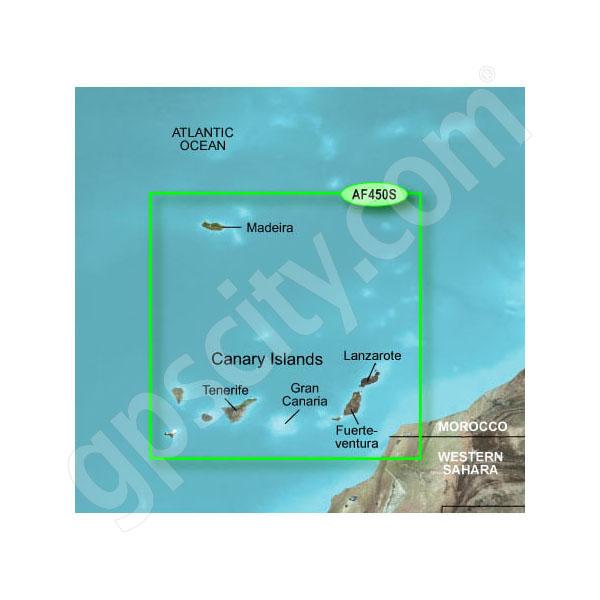 Garmin microSD Card BlueChart g2 Vision HD VAF450S