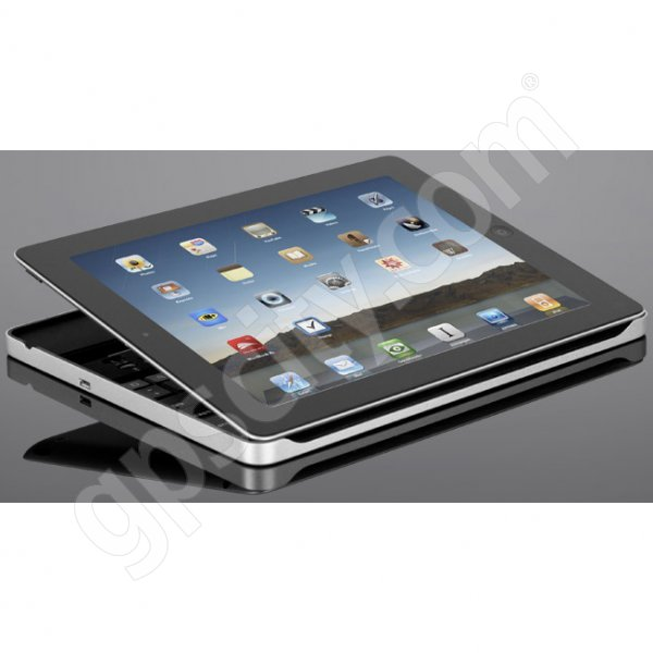 Zagg iPad 2 Zaggmate with Keyboard and Aluminum Cover Additional Photo #3