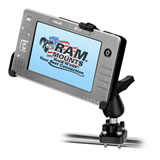 RAM Mount Asus R2H Tablet Cradle on Round Pole U-Bolt Mount