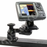 RAM Mount Horizontal Straight Swing Arm Lowrance and Humminbird Marine Mount