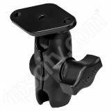 RAM Mount Open Socket Arm System with Diamond Base and Short Arm