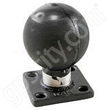 RAM Mount 2 x 2.5 inch Plate with 2.25 inch Ball